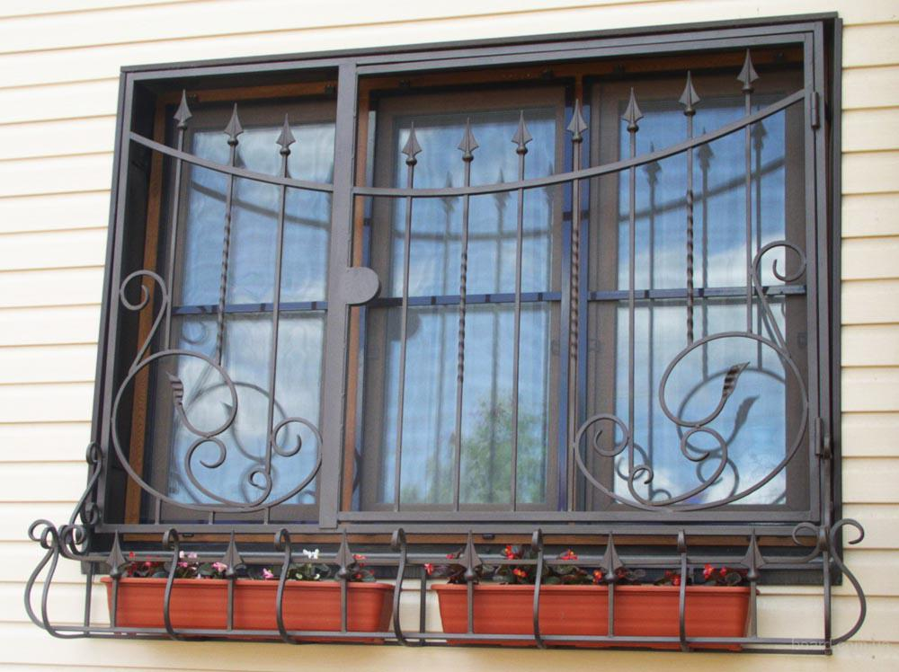 Установить решетки на окна цена